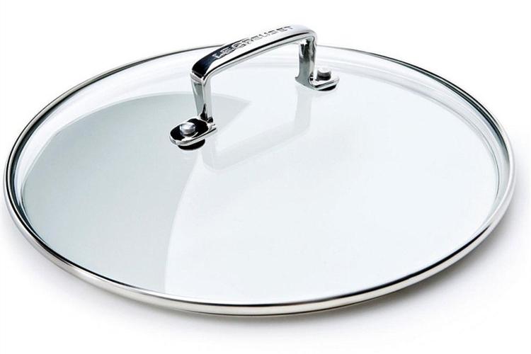 Le Creuset Glazen deksel Les Forgees - 28 cm