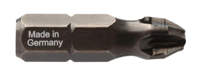 DIAGER slag- schroefbit IMPACT 1/4 30 mm 5 st. PZ2