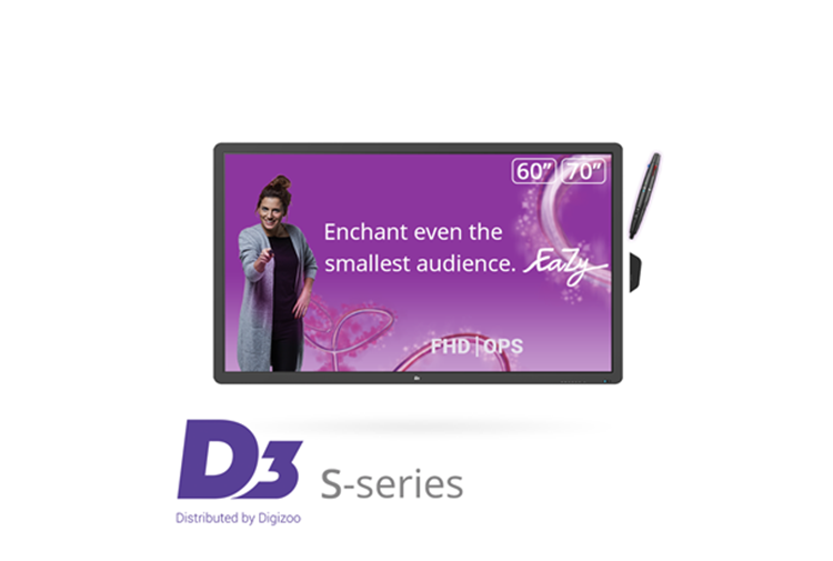 D3 S-series 60'' FHD-IR incl. EZ Holder + EZ Pen + D3 software