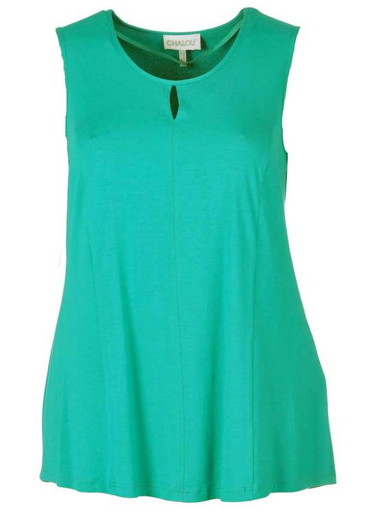 Chalou top 2337K-7444 Turquoise