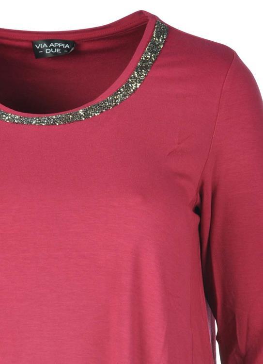 8d1757ac6ea6f4 Via Appia Due shirt 647941 Rood