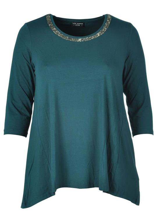 Via Appia Due shirt 647941 Blauw