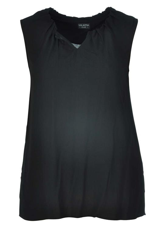 Via Appia Due blouse 847752 Zwart
