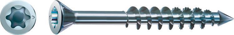 SPAX-M MDF schroeven TORX platkop 3,5 x 40 mm T15 WIROX Deeldraad 200 ST