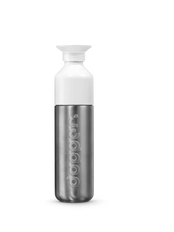 Dopper Drinkfles Solid Steel - 490 ml - RVS