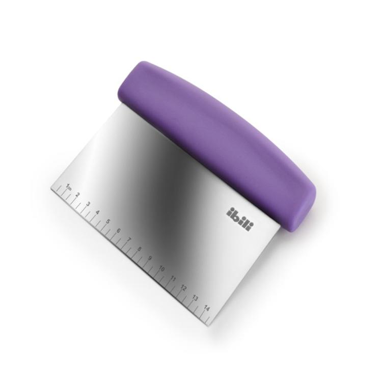 Ibili Scraper paars - 15 cm