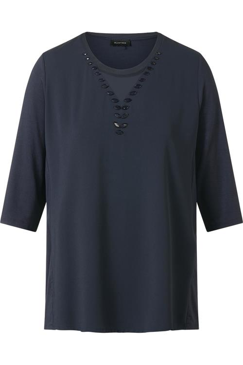 Top Sierstenen Navy