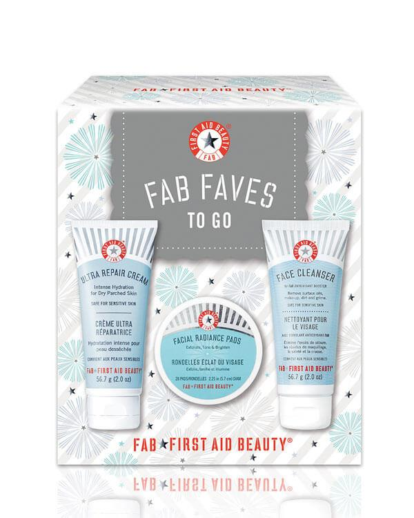 First Aid Beauty - FAB Faves To Go Kit - 2 x 56,7 ml + 28 st.