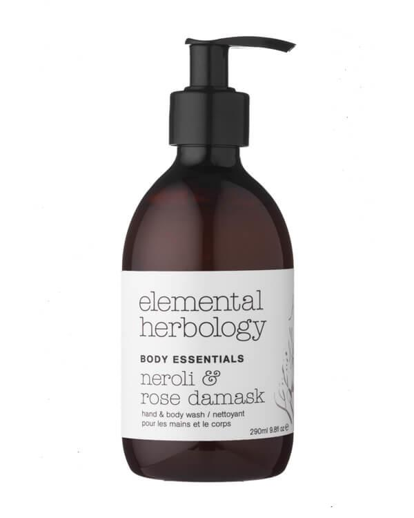 Elemental Herbology - Neroli & Rose Damask Hand & Body Wash - 290 ml