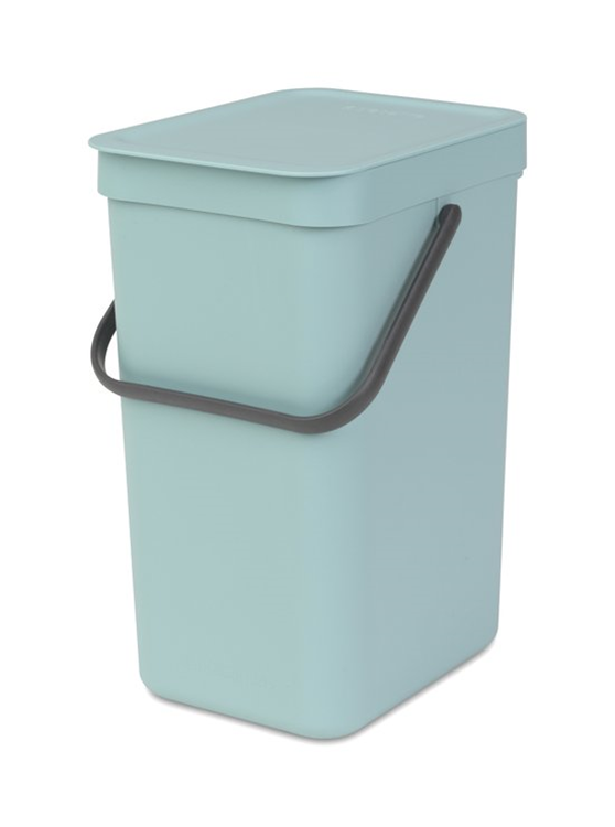 Brabantia Sort & Go afvalemmer 12 liter - mint