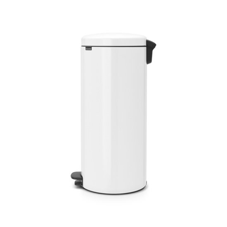 Brabantia Prullenbak 30 Liter.Brabantia Newicon Prullenbak 30 L Wit