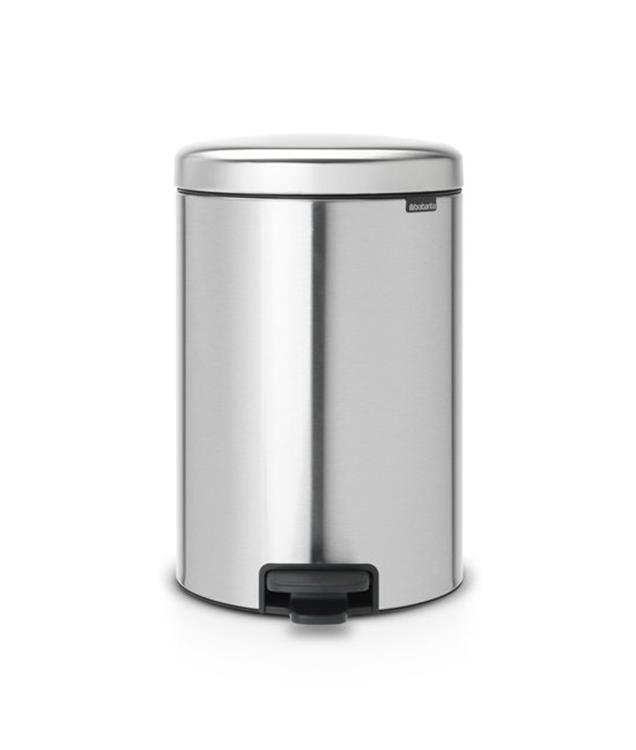 Brabantia newIcon Pedaalemmer 20 l - Matt Steel Fingerprint Proof