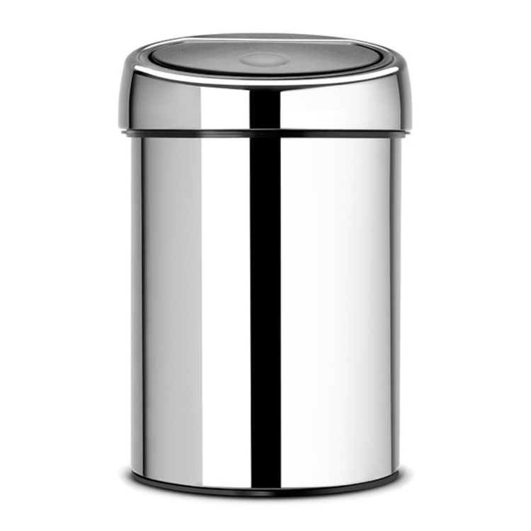 Brabantia Touch Bin 3 L. - Brilliant Steel