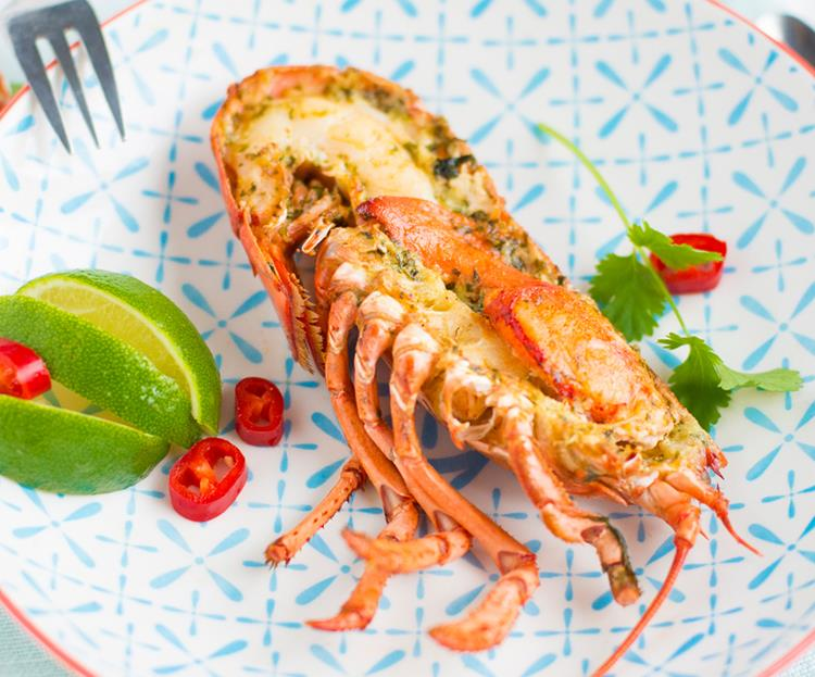 Lobster with Asian Spices & Lime