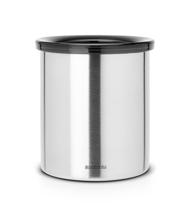 Brabantia Afvalbakje voor Koffiepads - Matt Steel
