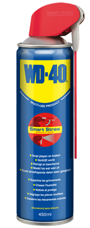 WD-40 Multi spray Smart Straw 450 ml.