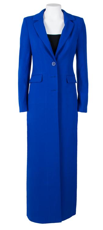 online retailer 2fde3 a10cd Mantel Lang - Kobalt