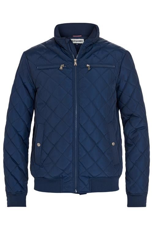 Jack Quilted Blauw