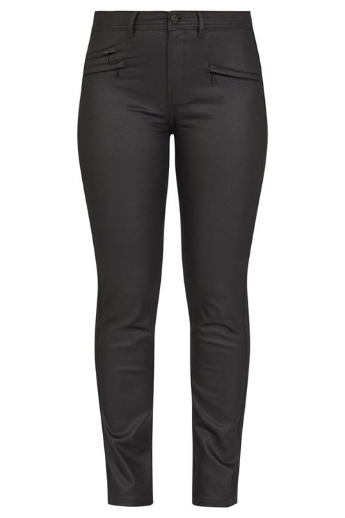 Gecoate corinna broek dames zwart miller monroe - Zwart gecoat ...