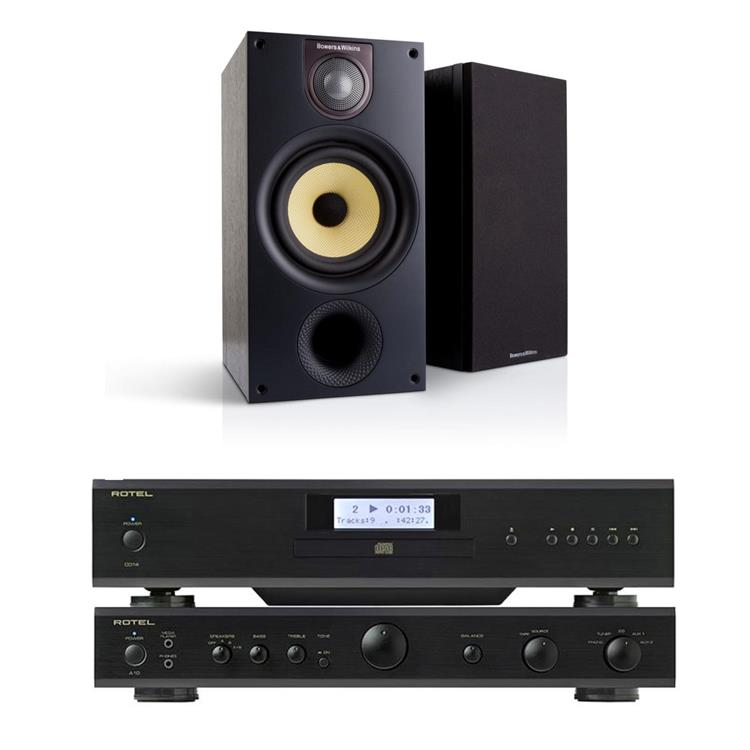 Actie Bowers & Wilkins & Rotel: 686 & A10 & CD14