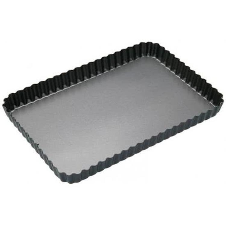 KitchenCraft MasterClass Taartvorm rechthoek - 30x20cm