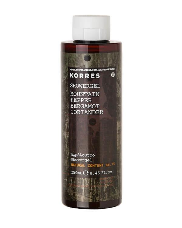 Korres - Mountain Pepper Showergel - 250 ml