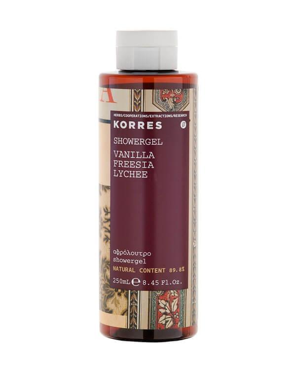 Korres - Vanilla, Freesia&Lychee Showergel - 250 ml
