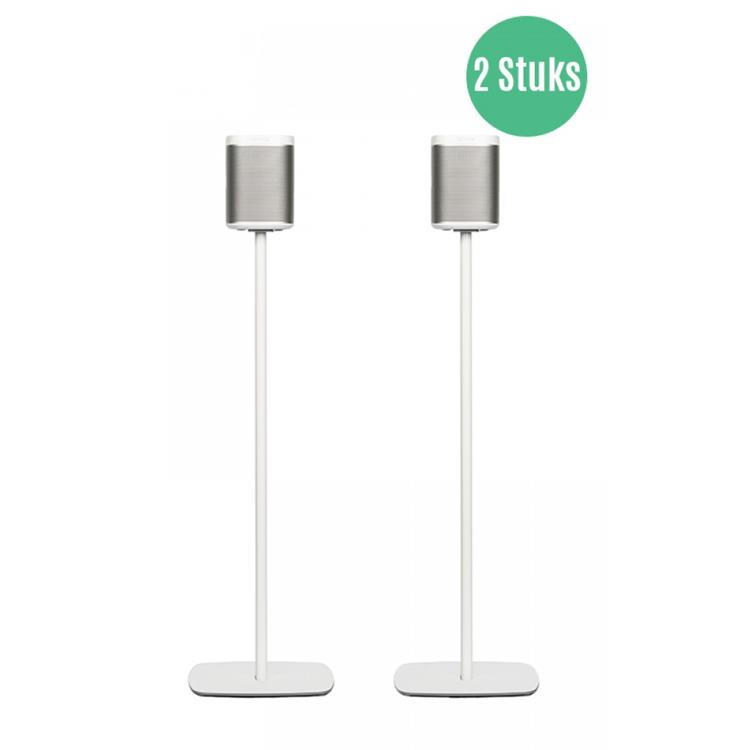 Flexson PLAY:1 - floor stand (Set van 2) voor SONOS Wit