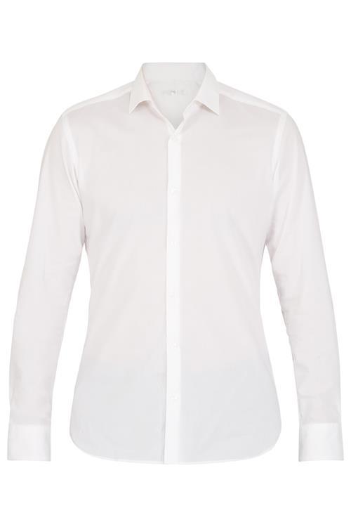 Overhemd Wit.Overhemd Katoen Wit Slim Fit Miller Monroe