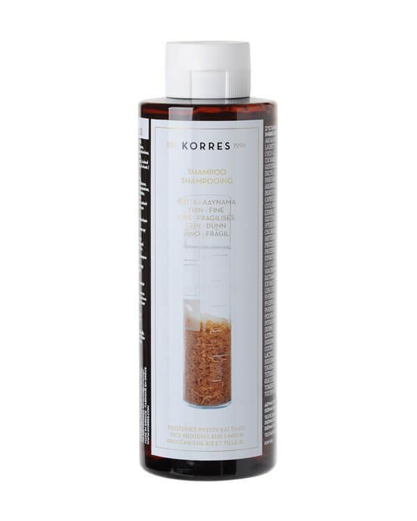 Korres - Rice Proteins & Linden Shampoo - 250 ml