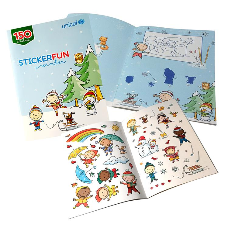 Stickerboek winter