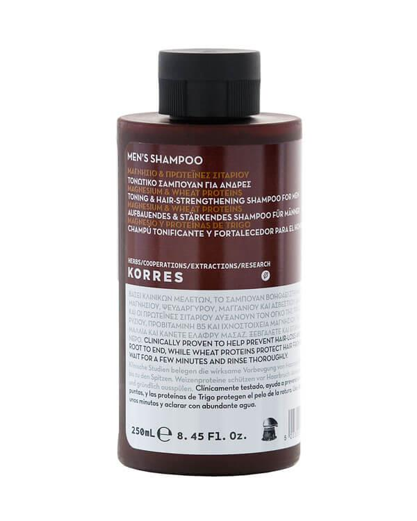 Magnesium & Wheat Proteins Toning Shampoo - 200 ml