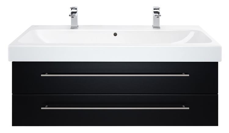 badmeubel keramag icon 120 cm zwart. Black Bedroom Furniture Sets. Home Design Ideas