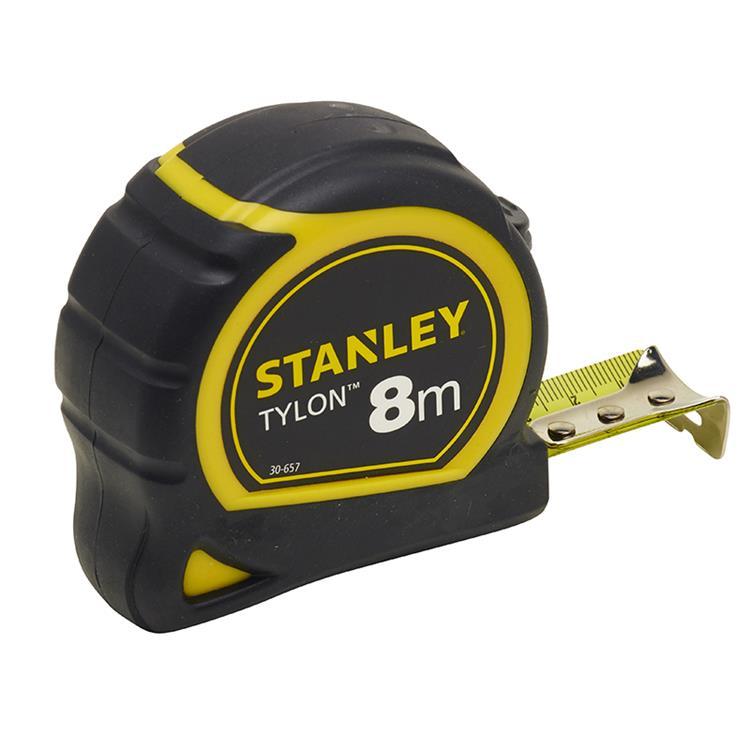 Stanley rolbandmaat Tylon 8m