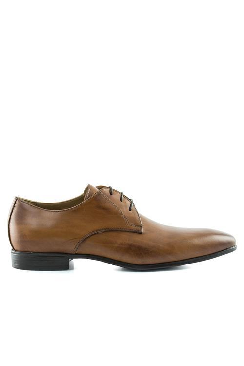 Chaussures En Cuir Dentelle Serrano fjovlac