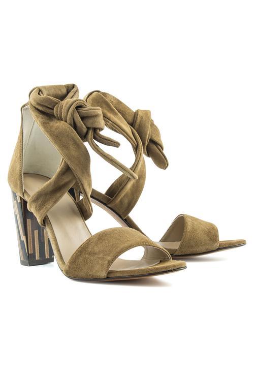 Sandales À Talon En Daim Mariani jnghjzmMbo