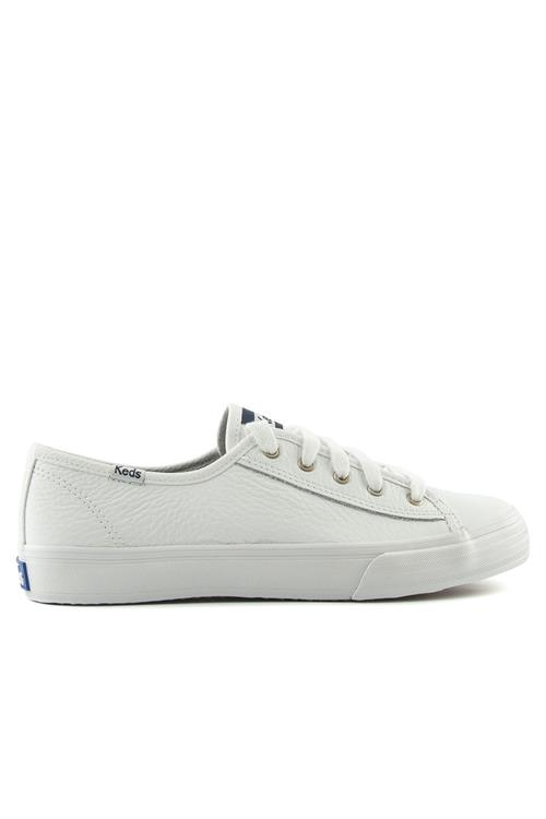 Dbl up tumbled sneaker leer