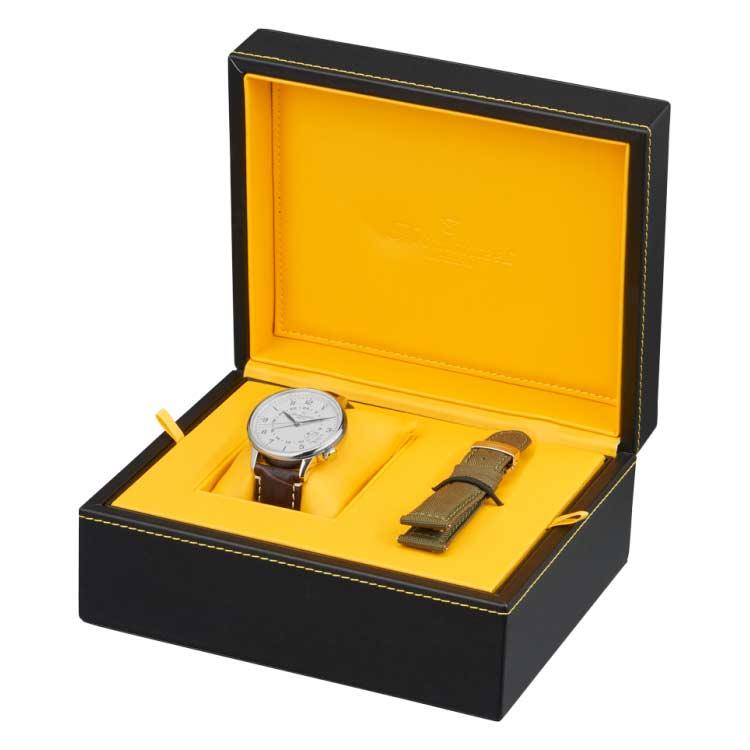 Fromanteel Globetrotter GMT horloge GT-0601-009 giftset