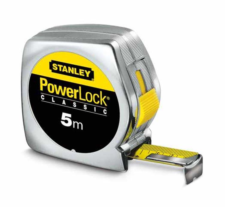 Stanley Powerlock ABS rolbandmaat 5m