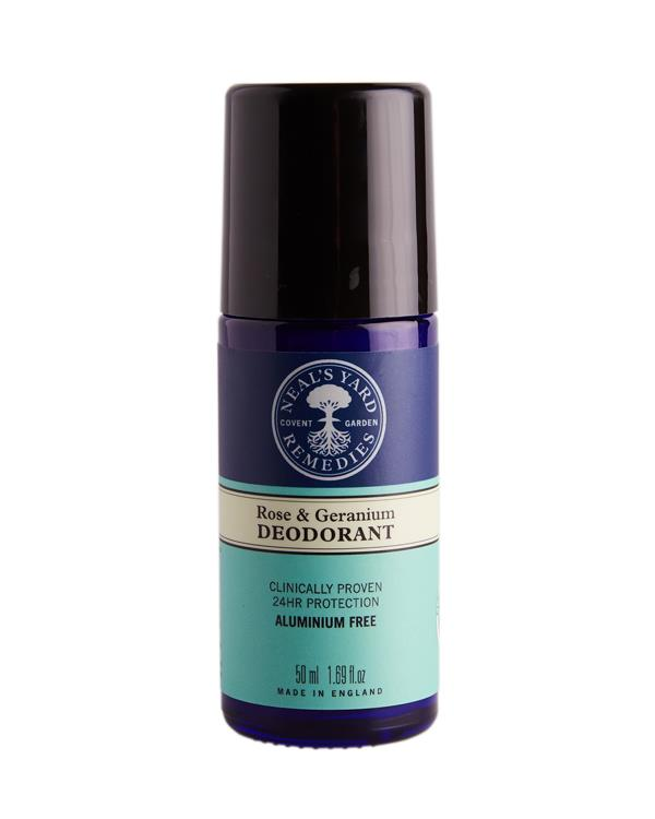 Neal's Yard Remedies - Rose & Geranium Roll On Deodorant - 50 ml