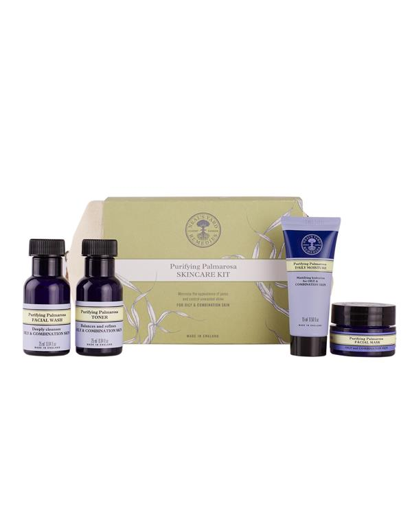 Oily & Combination Skincare Kit - 3 x 25 ml + 15 gr.
