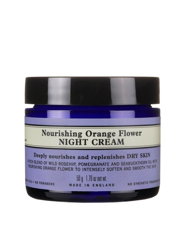 Nourishing Orange Flower Night Cream - 50 gr
