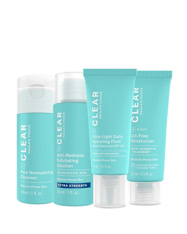 Paula's Choice - Trial Kit Clear Extra Strength for Acne-Prone Skin - 2 x 30 ml + 15 ml