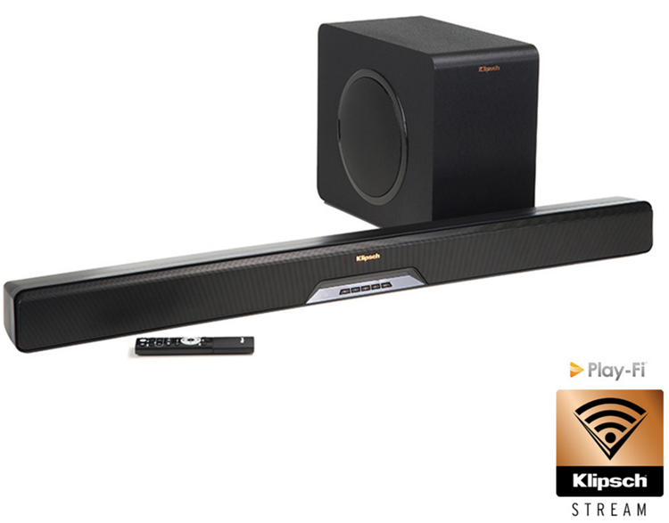 Klipsch RSB-14 All in one Soundbar + draadloze Subwoofer Zwart