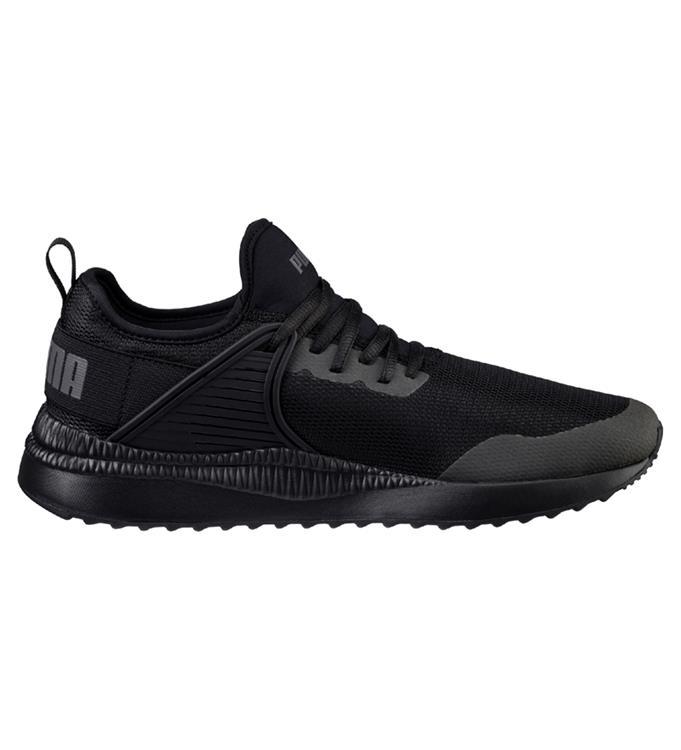 Enfants Unisexe Pumas Carson Course 2ans Chaussures - Noir - 35,5 Eu