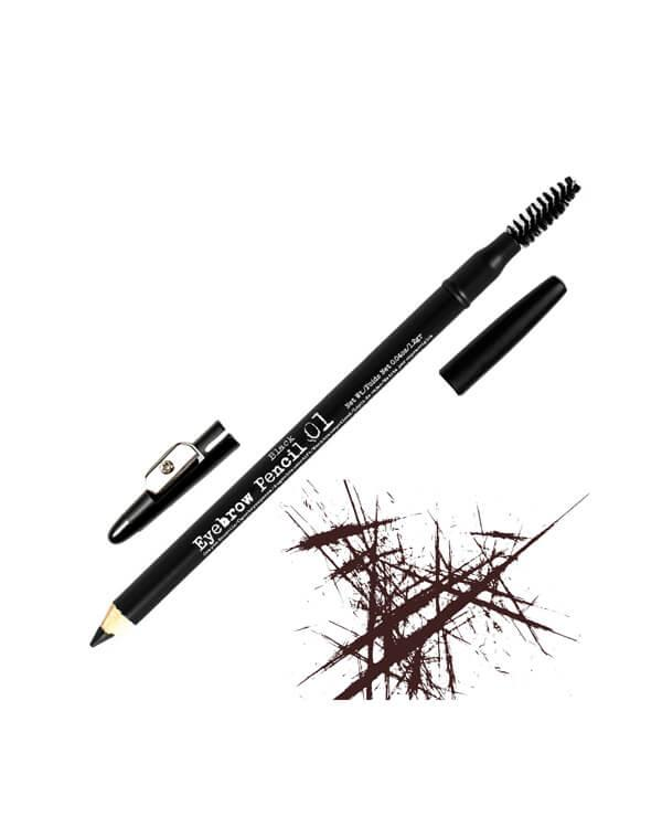 The BrowGal - Skinny Eyebrow Pencil Black 01 - 1,2 gr.