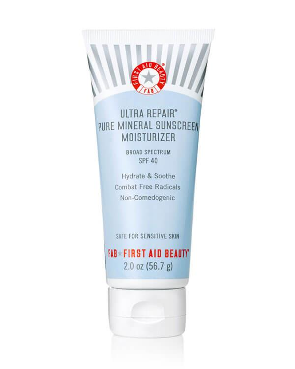 First Aid Beauty - Ultra Repair Pure Mineral Sunscreen Moisturizer SPF40 - 56,7 ml