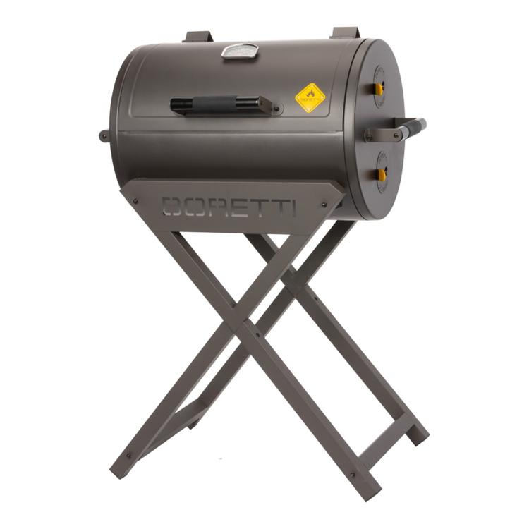 Boretti Fratello houtskoolbarbecue - antraciet