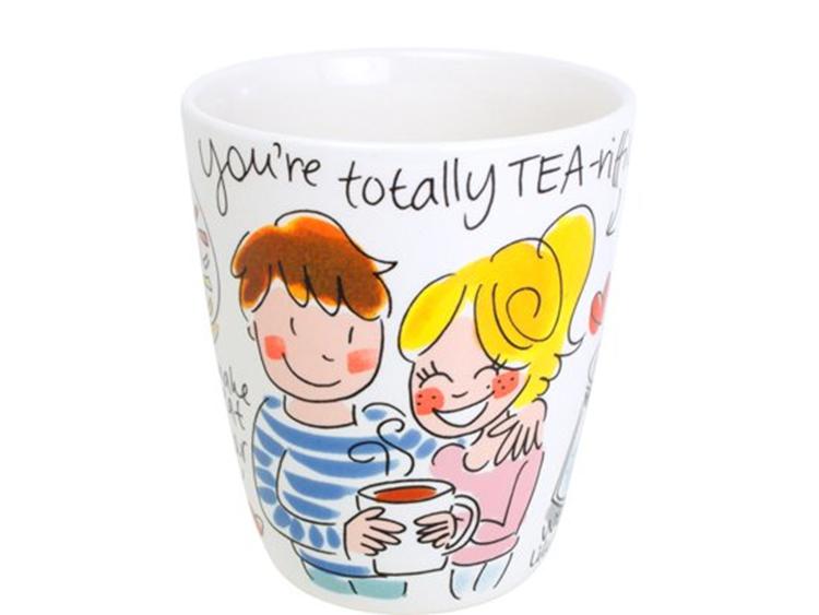Blond Amsterdam Mok Valentijn 'Totally Tea-riffic!'