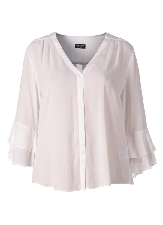 Via Appia Due blouse 818751 Ecru